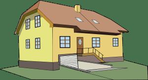 dům jedno patro